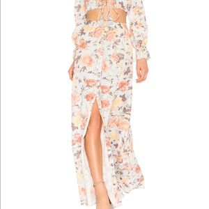 NWT Majorelle high waisted maxi skirt